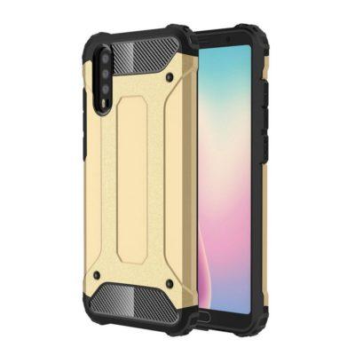 Huawei P20 Suojakuori 2-osainen Kulta