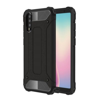 Huawei P20 Suojakuori 2-osainen Musta
