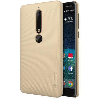 Nokia 6 (2018) Suojakuori Nillkin Frosted Kulta