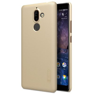 Nokia 7 Plus Suojakuori Nillkin Frosted Kulta