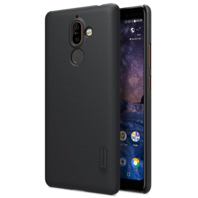 Nokia 7 Plus Suojakuori Nillkin Frosted Musta