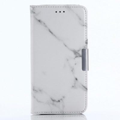 Samsung Galaxy A8 (2018) Kotelo Marmori Valkoinen