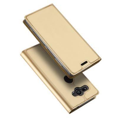 Sony Xperia XZ2 Compact Kotelo Dux Ducis Kulta