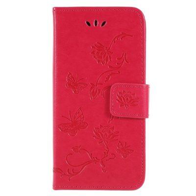 Sony Xperia XZ2 Compact Kotelo Kukka Pinkki