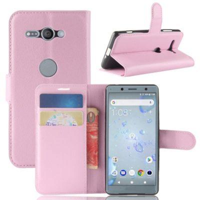 Sony Xperia XZ2 Compact Suojakotelo Vaaleanpunainen