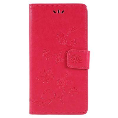 Sony Xperia XZ2 Suojakotelo Kukka Pinkki