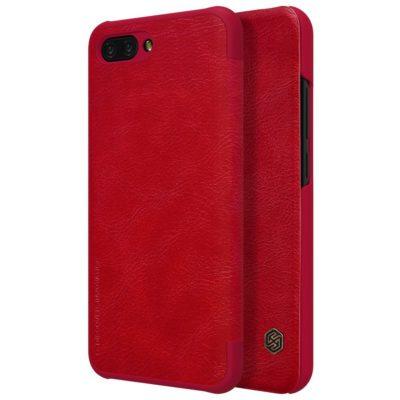 Huawei Honor 10 Kotelo Nillkin Qin Punainen