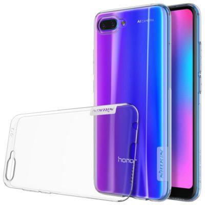 Huawei Honor 10 Suojakuori Nillkin Läpinäkyvä