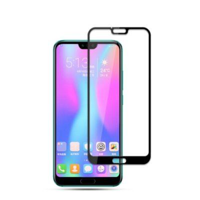 Huawei Honor 10 Täysin Peittävä Panssarilasi Musta