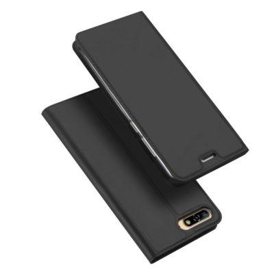 Huawei Y6 (2018) Suojakotelo Dux Ducis Tummanharmaa