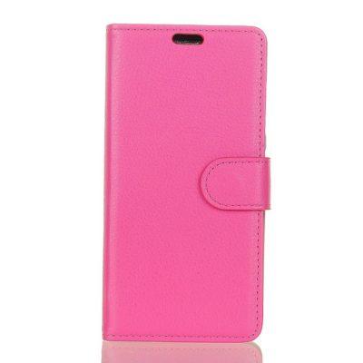 Huawei Y6 (2018) Suojakotelo Pinkki Lompakko