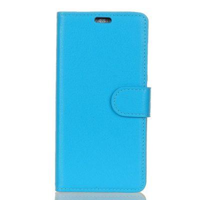 Huawei Y6 (2018) Suojakotelo Sininen Lompakko