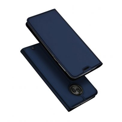 Motorola Moto G6 Plus Kotelo Dux Tummansininen