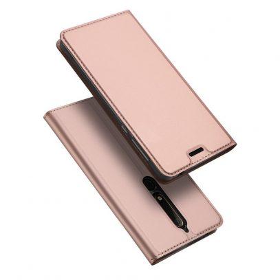 Nokia 6 (2018) Kotelo Dux Ducis Ruusukulta