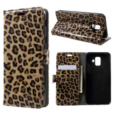 Samsung Galaxy A6 (2018) Suojakotelo Leopardi