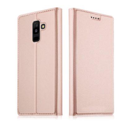 Samsung Galaxy A6 (2018) Suojakotelo Ruusukulta