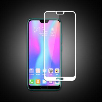 Huawei Honor 10 Täysin Peittävä Panssarilasi Valkoinen