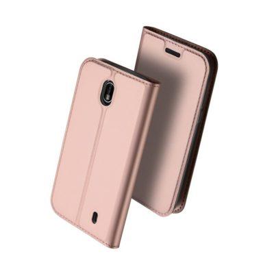 Nokia 1 Suojakotelo Dux Ducis Ruusukulta