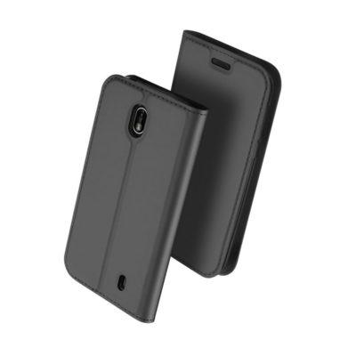 Nokia 1 Suojakotelo Dux Ducis Tummanharmaa