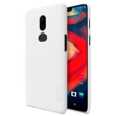 OnePlus 6 Suojakuori Nillkin Frosted Valkoinen