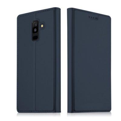Samsung Galaxy A6+ (2018) Kotelo Tummansininen