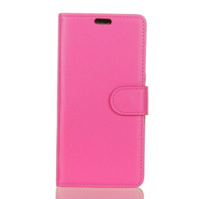 Samsung Galaxy A6+ (2018) Lompakkokotelo Pinkki