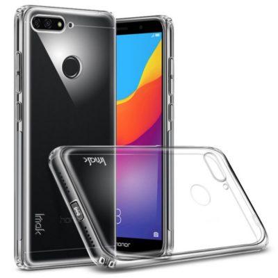 Huawei Honor 7A Suojakuori IMAK Läpinäkyvä + Kalvo