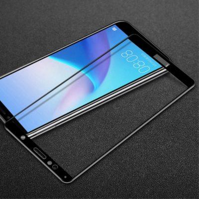 Huawei Honor 7A Täysin Peittävä Panssarilasi Musta