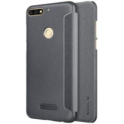 Huawei Honor 7C Kotelo Nillkin Sparkle Musta