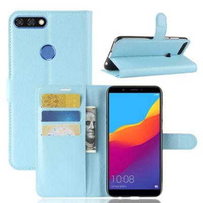 Huawei Honor 7C Lompakkokotelo Sininen