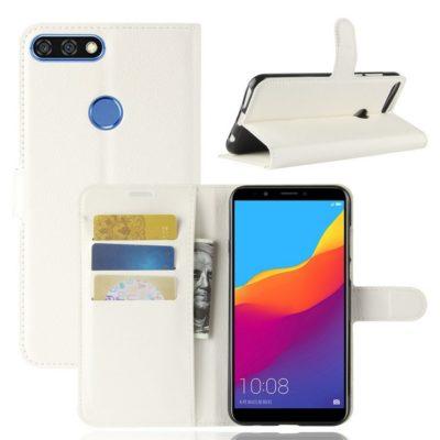 Huawei Honor 7C Lompakkokotelo Valkoinen