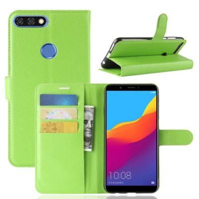 Huawei Honor 7C Lompakkokotelo Vihreä