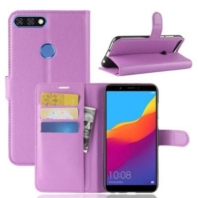 Huawei Honor 7C Lompakkokotelo Violetti