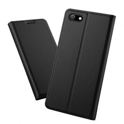 Huawei Honor 7S Kannellinen Suojakotelo Musta