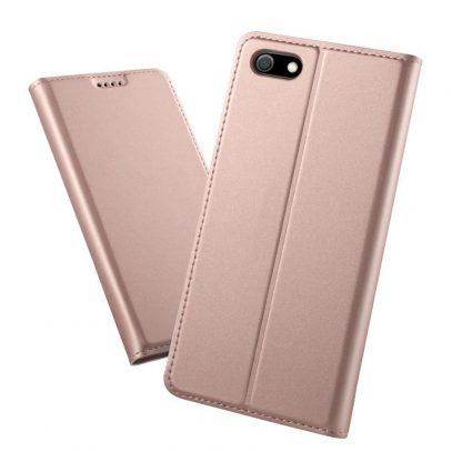 Huawei Honor 7S Kannellinen Suojakotelo Ruusukulta