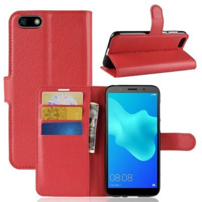 Huawei Honor 7S Lompakkokotelo Punainen