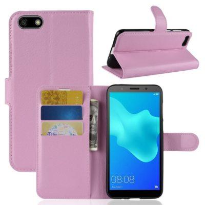 Huawei Honor 7S Lompakkokotelo Vaaleanpunainen