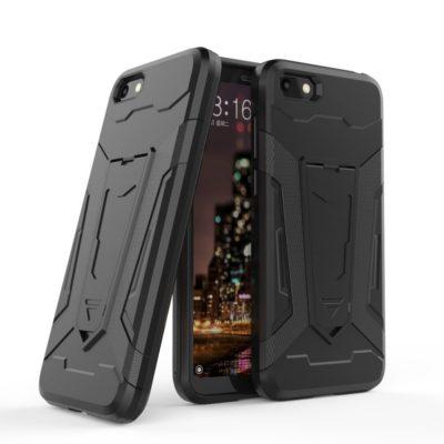 Huawei Honor 7S Suojakuori 2-osainen Musta