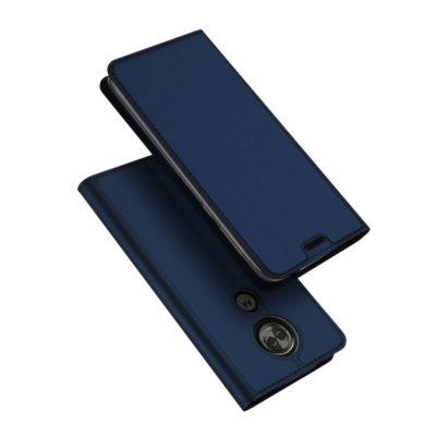 Motorola Moto E5 Plus Kotelo Dux Ducis Tummansininen