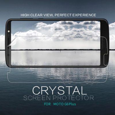 Motorola Moto G6 Plus Suojakalvo Nillkin Kirkas