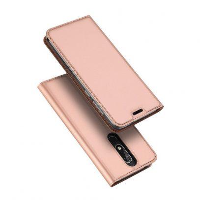 Nokia 5.1 (2018) Suojakotelo Dux Ducis Ruusukulta