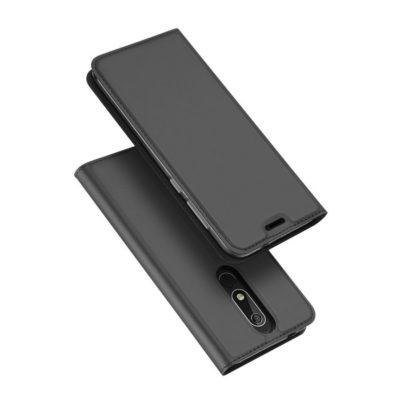 Nokia 5.1 (2018) Suojakotelo Dux Ducis Tummanharmaa