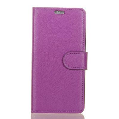 Nokia 5.1 (2018) Suojakotelo Violetti Lompakko
