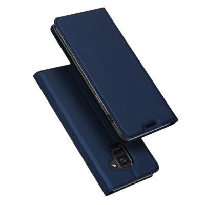 Samsung Galaxy J6 (2018) Kotelo Dux Ducis Tummansininen