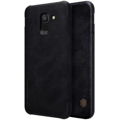 Samsung Galaxy J6 (2018) Kotelo Nillkin Qin Musta