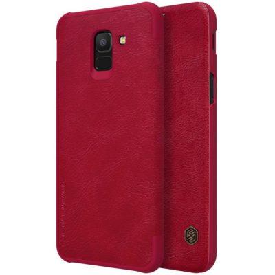 Samsung Galaxy J6 (2018) Kotelo Nillkin Qin Punainen
