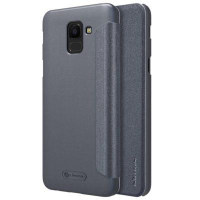 Samsung Galaxy J6 (2018) Kotelo Nillkin Sparkle Musta