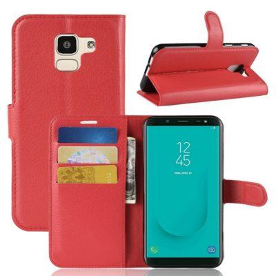 Samsung Galaxy J6 (2018) Suojakotelo Punainen