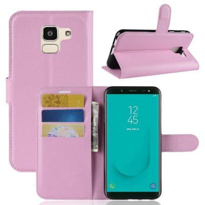 Samsung Galaxy J6 (2018) Suojakotelo Vaaleanpunainen