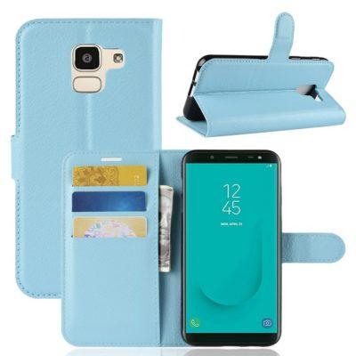 Samsung Galaxy J6 (2018) Suojakotelo Vaaleansininen